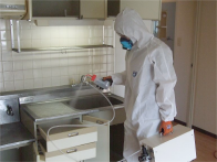 お部屋の整理と除菌・消臭