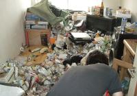ごみ屋敷のオゾン除菌・消臭